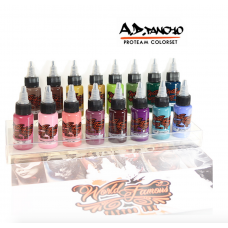 WF A.D. Pancho Proteam Color Set