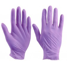 Перчатки нитриловые (фиолетовые)